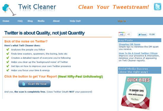 tweet cleaner twitter tool