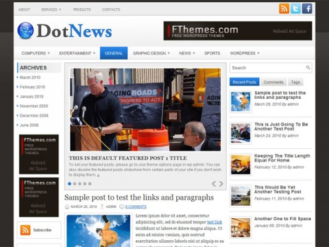DotNews-template-wordpress