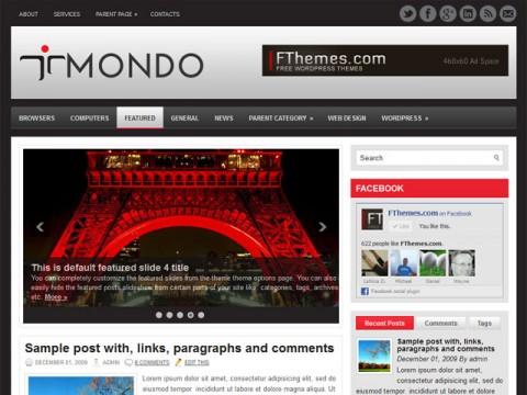 Mondo Template Wordpress