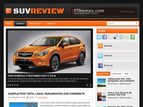 Suvreview Template Wordpress