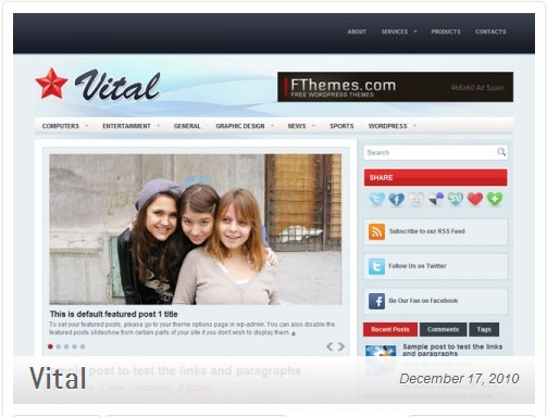 Vital-template-wordpress