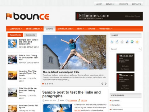bounce-template-wordpress