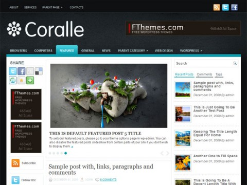 coralee Template wordpress